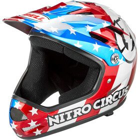 Bell Sanction Casque, red/silver/blue nitro circus
